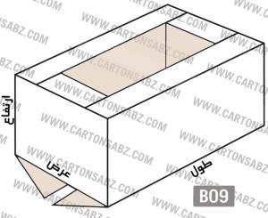 B09-carton-box-design –  کارتن سبز تولید کننده انواع کارتن جعبه ورق کارتن سینگل فیس