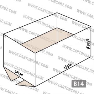 B14-carton-box-design – کارتن سبز تولید کننده انواع کارتن جعبه ورق کارتن سینگل فیس