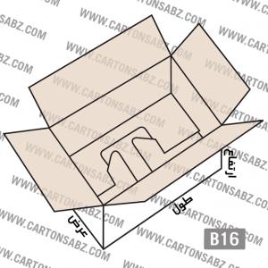 B16-carton-box-design – کارتن سبز تولید کننده انواع کارتن جعبه ورق کارتن سینگل فیس