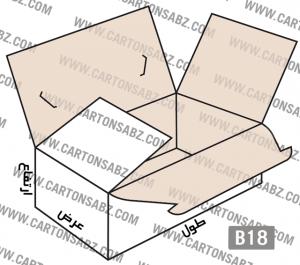 B18-carton-box-design – کارتن سبز تولید کننده انواع کارتن جعبه ورق کارتن سینگل فیس