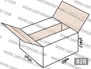B29-carton-box-design – کارتن سبز تولید کننده انواع کارتن جعبه ورق کارتن سینگل فیس