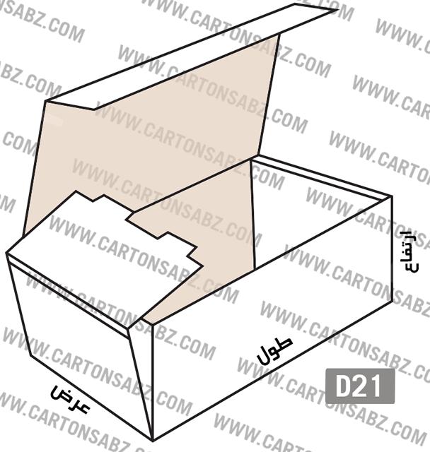 کارتنD21