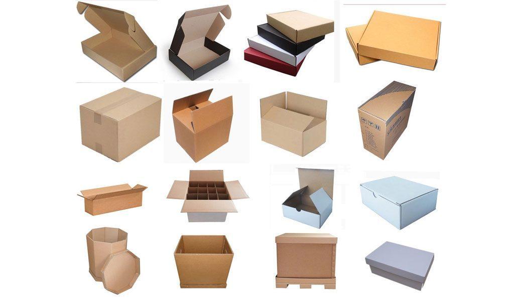 انواع جعبه های کارتنی