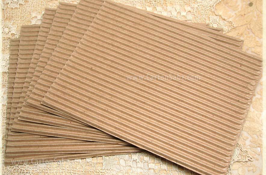 ورق کارتن سینگل فیس - ورق های سینگل فیس